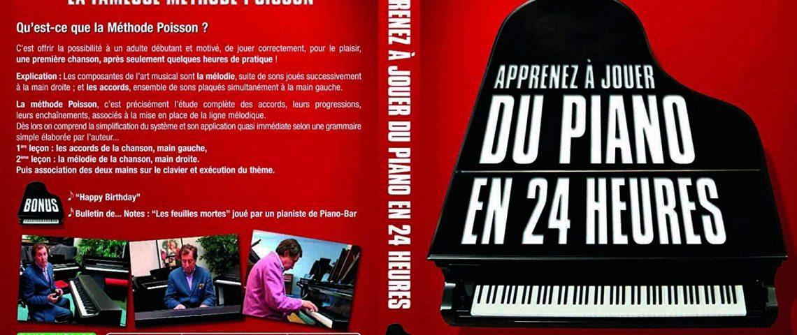 Méthode Poisson pour apprendre le piano
