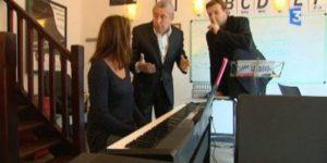 Leçon de piano en ligne