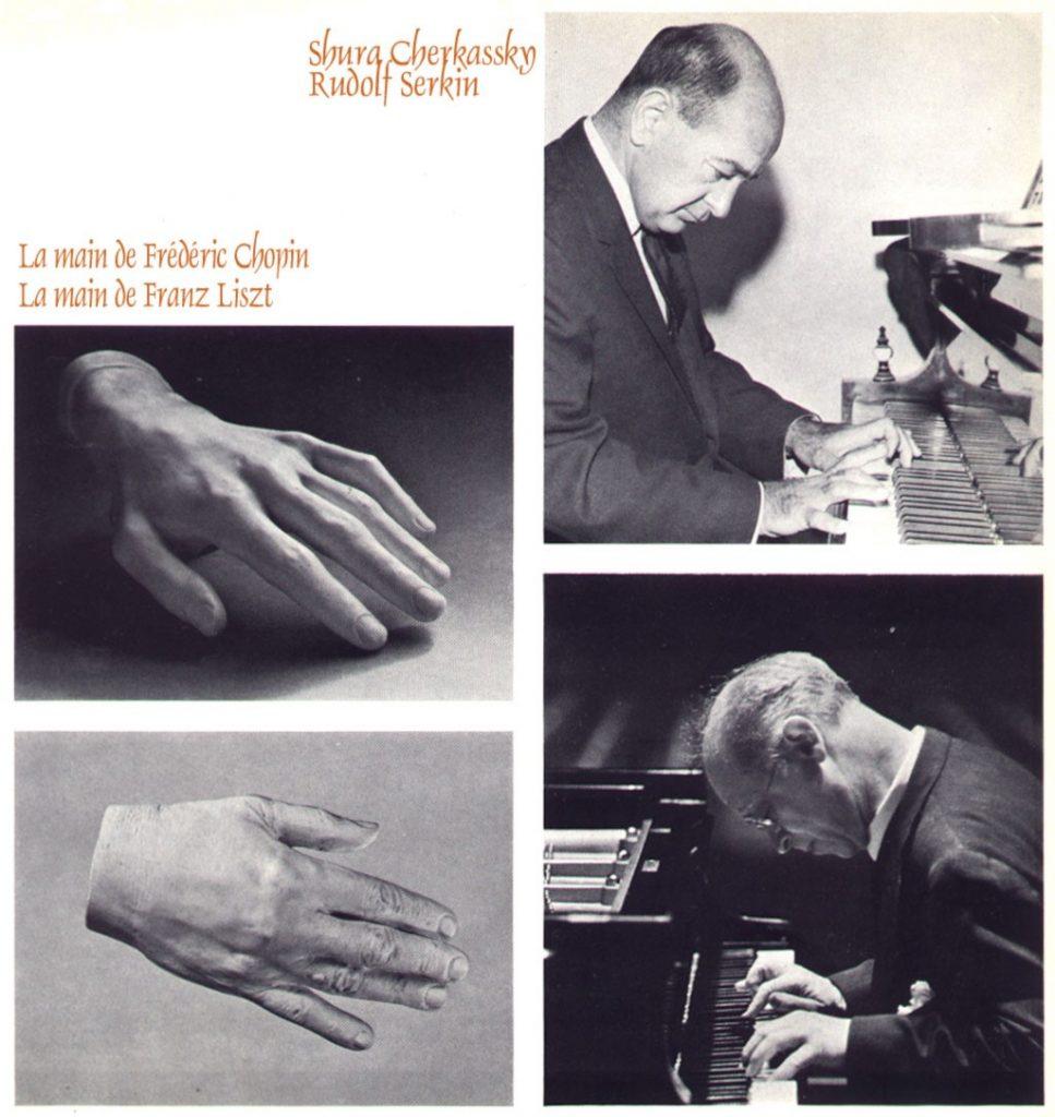 Mains des pianistes