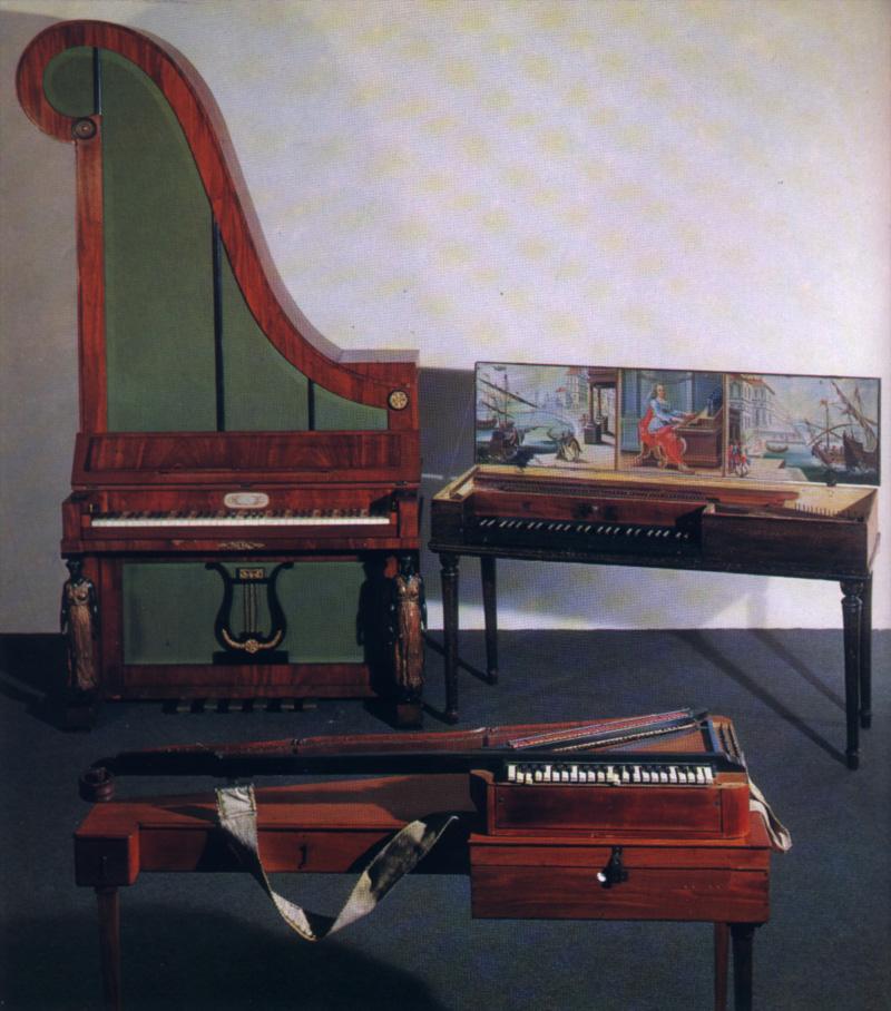 Formes bizarres du pianoforte
